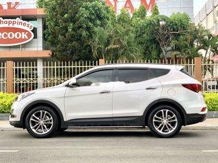 Bán ô tô Hyundai Santa Fe 2016, màu trắng số tự động, 865 triệu