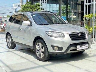 Bán xe Hyundai Santa Fe đời 2011, màu bạc