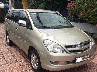 Cần bán gấp Toyota Innova đời 2007, nhập khẩu nguyên chiếc chính chủ