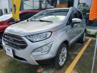 Bán Ford EcoSport 1.5L AT Titanium sản xuất 2019, màu bạc, giá chỉ 580 triệu