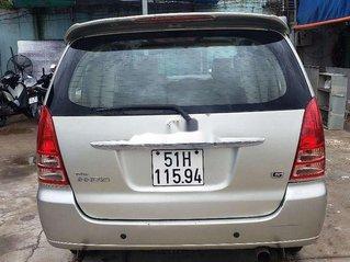 Cần bán gấp Toyota Innova đời 2007, màu bạc
