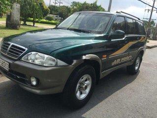 Cần bán xe Ssangyong Musso đời 2003, xe nhập