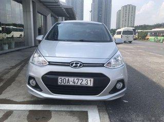 Bán Hyundai Grand i10 đời 2014, màu bạc, nhập khẩu Ấn Độ