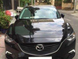 Bán xe Mazda 6 năm sản xuất 2017, màu đen còn mới