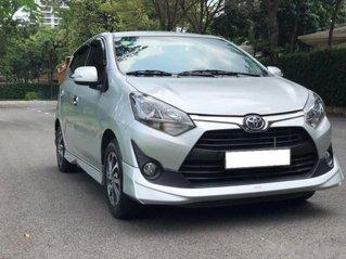 Xe Toyota Wigo năm sản xuất 2018, màu bạc còn mới