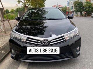 Bán Toyota Corolla Altis năm 2015, màu đen, giá chỉ 569 triệu