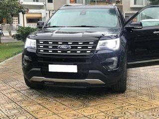 Bán Ford Explorer Limited sản xuất 2016, màu đen, bản full