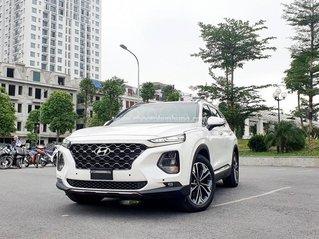 Bán Hyundai SantaFe Premium đời 2020, màu trắng, đã sử dụng