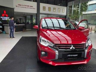 Bán xe Mitsubishi Attrage 2020 mới giá hỗ trợ thuế trước bạ siêu hấp dẫn, chỉ 140 triệu lấy xe, đủ màu sẵn xe giao ngay