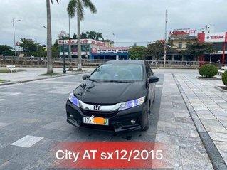 Bán xe Honda City AT 2015, màu đen
