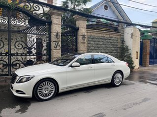 Bán S500 2017 xe đẹp trắng nội thất nâu đi 27353km bao check hãng