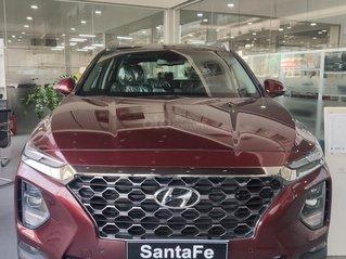 Hyundai Santafe 2020 giá tốt miền Bắc giảm thuê 50%, trả góp 85%, tặng kèm bộ quà tặng DV, đủ màu xe giao ngay
