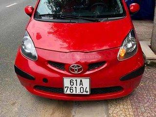 Bán xe Toyota Aygo 1.0 MT đời 2008, màu đỏ, nhập khẩu xe gia đình