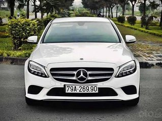 Bán Mercedes C class năm 2019, màu trắng còn mới