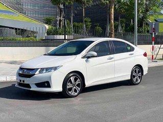 Cần bán gấp Honda City 1.5 CVT sản xuất 2016, màu trắng