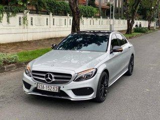 Cần bán gấp C300 AMG 2017, màu bạc