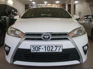 Bán xe Toyota Yaris 2016, model 2017, màu trắng
