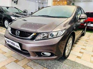 Cần bán xe Honda Civic sản xuất năm 2015, màu nâu còn mới