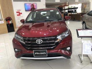 Toyota Rush 1.5S 7 chỗ khuyến mãi khủng - màu đỏ giao ngay
