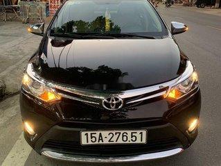 Bán Toyota Vios sản xuất 2016, màu đen số tự động, giá chỉ 462 triệu