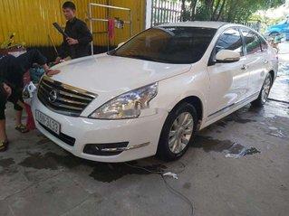 Bán xe Nissan Teana đời 2009, màu trắng, nhập khẩu