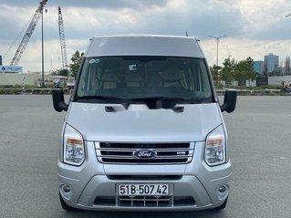 Bán ô tô Ford Transit sản xuất năm 2014, màu bạc chính chủ, giá 368tr