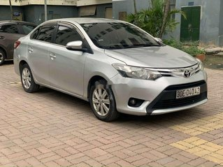 Bán Toyota Vios năm 2016, màu bạc, số sàn