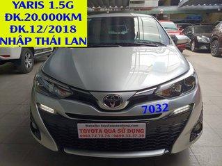 Cần bán lại xe Toyota Yaris năm sản xuất 2018, màu bạc, nhập khẩu