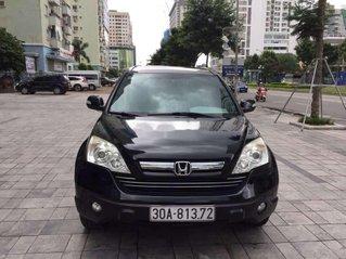 Cần bán gấp Honda CR V đời 2009, màu đen