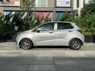Bán xe Hyundai Grand i10 năm 2014, màu bạc, nhập khẩu nguyên chiếc