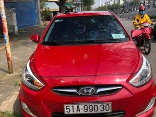 Bán Hyundai Accent 2014, màu đỏ, nhập khẩu số tự động, 379 triệu