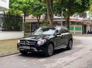 Bán xe Mercedes GLC250 sản xuất 2018, màu đen, nội thất cafe, siêu lướt