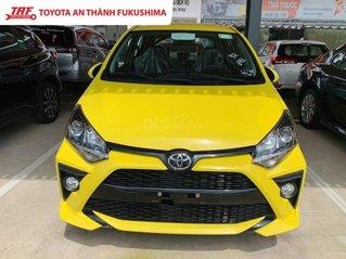 Bán xe Toyota Wigo 1.2 số tự động - xe đủ màu giao ngay - khuyến mãi khủng