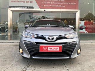 Cần bán xe Toyota Vios 1.5G CVT 2019, màu bạc, xe gia đình đi 28.000km - xe chất giá tốt