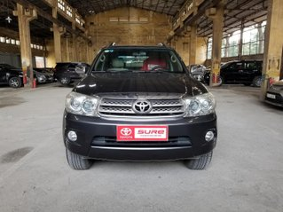 Cần bán xee Toyota Fortuner 2.7V 4x4AT 2010 màu xám gia đình HCM đi 175k - xe cũ chính hãng Toyota Sure