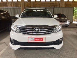 Cần bán xe Toyota Fortuner TRDSportivo 2014, màu trắng gia đình Tp. HCM - xe cũ chính hãng Toyota Sure
