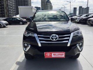 Cần bán xe Toyota Fortuner 2.4G AT 2020, màu đen xe gia đình đi 4.859km - xe cũ chính hãng Toyota Sure