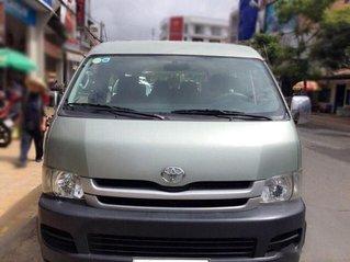 Bán xe Toyota Hiace Van năm 2008 số sàn, màu xanh ngọc