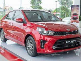 Bán ô tô Kia Soluto đời 2020, màu đỏ, giá cạnh tranh