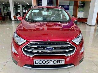 Bán ô tô Ford EcoSport 2020, màu đỏ, giá chỉ từ 616tr