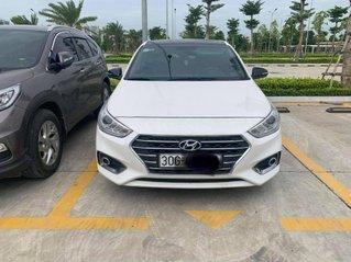 Bán xe Hyundai Accent bản AT SX 2018, màu trắng