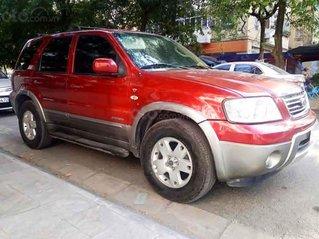 Bán Ford Escape sản xuất năm 2004, màu đỏ