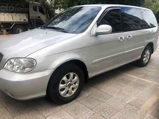 Cần bán xe Kia Carnival GS 2.5 MT 2007, màu bạc