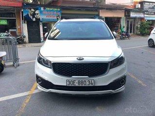 Cần bán xe Kia Sedona SX 2017, máy xăng, màu trắng