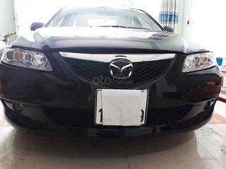 Bán Mazda 6 năm sản xuất 2005, màu đen xe gia đình giá cạnh tranh