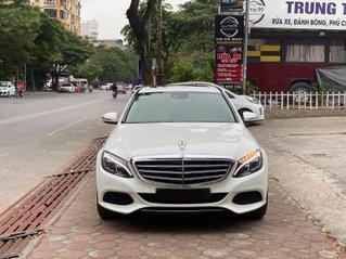 [HOT] Mercedes C250 trắng, SX 2016, giá cực yêu