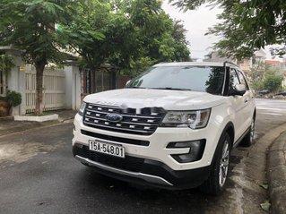 Bán Ford Explorer đời 2017, màu trắng, nhập khẩu