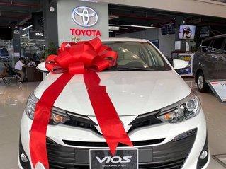 Bán ô tô Toyota Vios đời 2020, màu trắng, giá 455tr