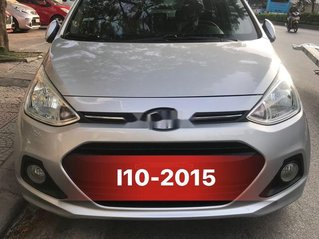 Bán ô tô Hyundai Grand i10 đời 2015, màu bạc, xe nhập, giá 310tr