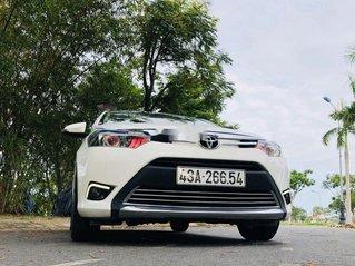 Bán Toyota Vios E đời 2017, màu trắng chính chủ, giá chỉ 405 triệu